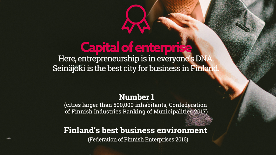 Seinäjoki - City of entrepreneurship